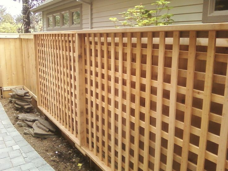 Trellis Fence Panels Fencing Services Liverpool